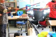 Montessori Grunschule Hangelsberg_Dankeschön an Geschäftsführer_Selbstbau Numerischer Stangen_4